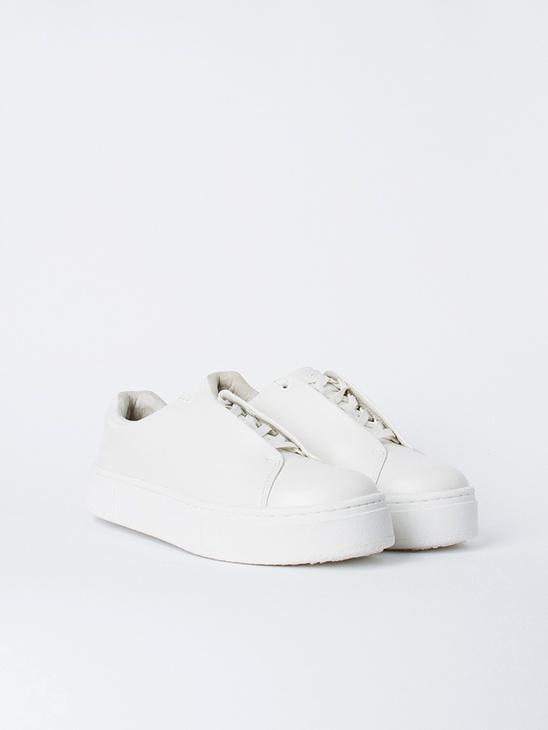 Doja Leather White W