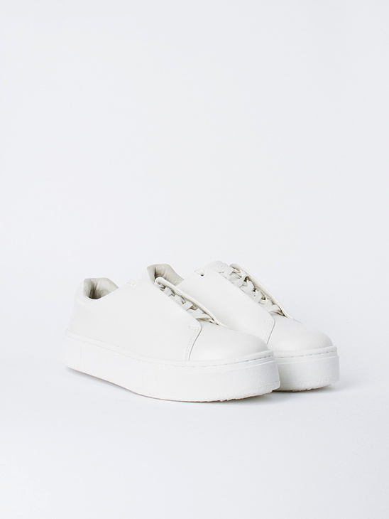 Doja Leather White