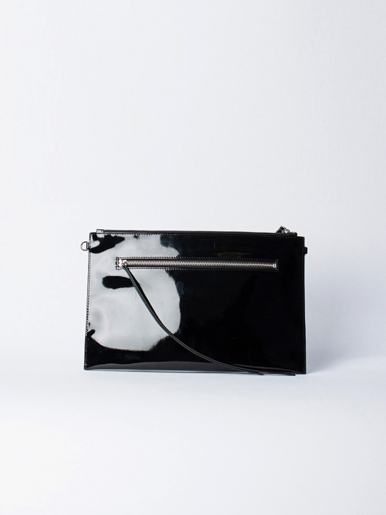Zip Bag Patent Black