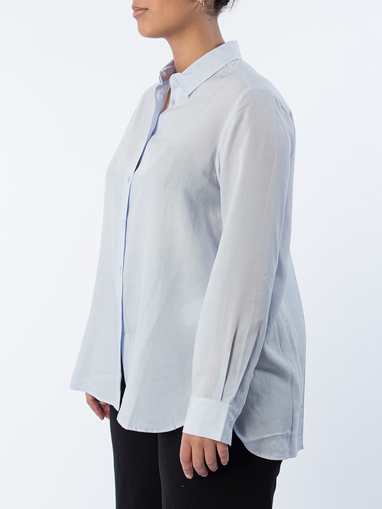 High-low Tencel Shirt