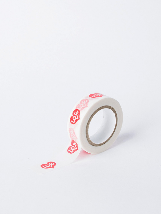 Masking Tapes Love Heart