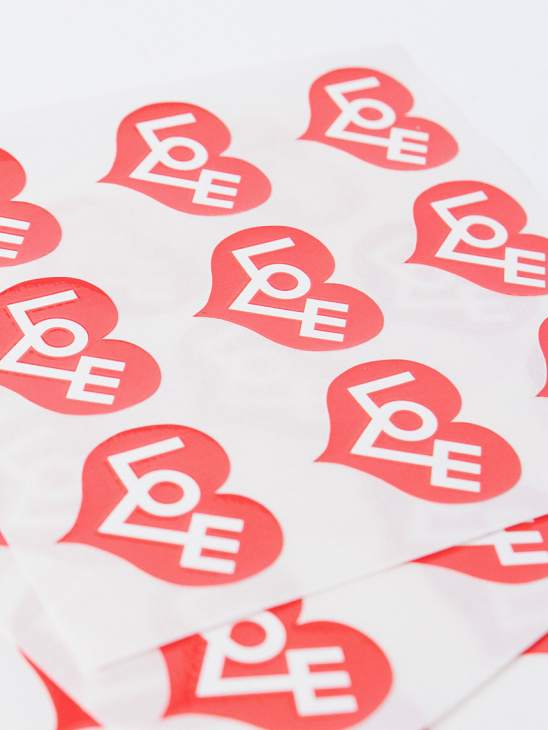Stickers Love Heart