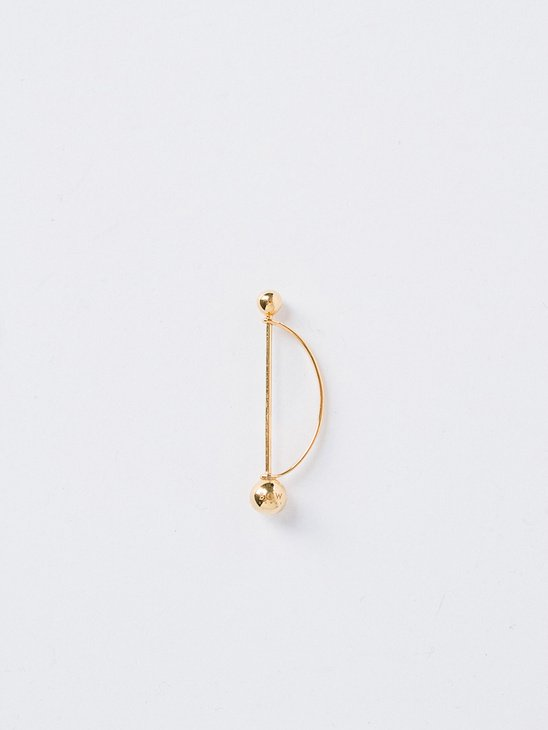 Toxophilite Earpin Gold Plated