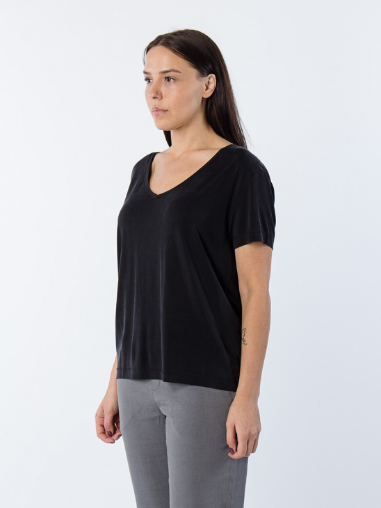 Siff V-Neck 6202 Black BAS
