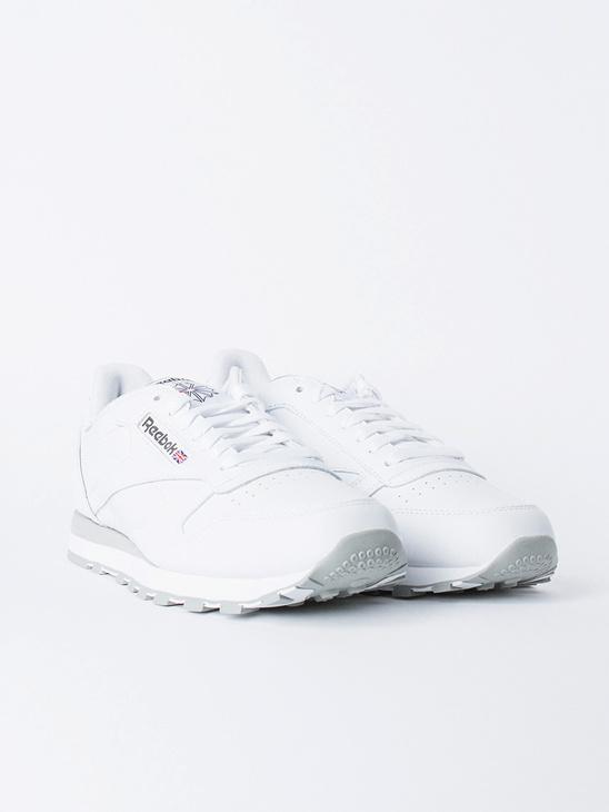 CL LTHR White