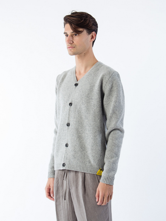 Öland Cardigan Grey