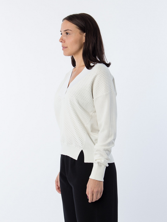 Sooz Sweater White