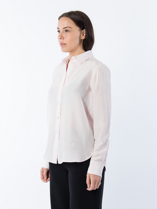 Washed Silk Shirt