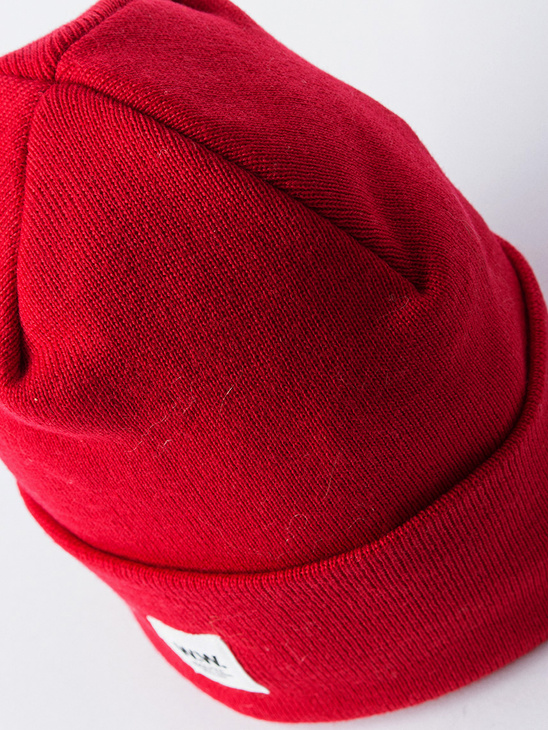 Gerald Tall Beanie Red