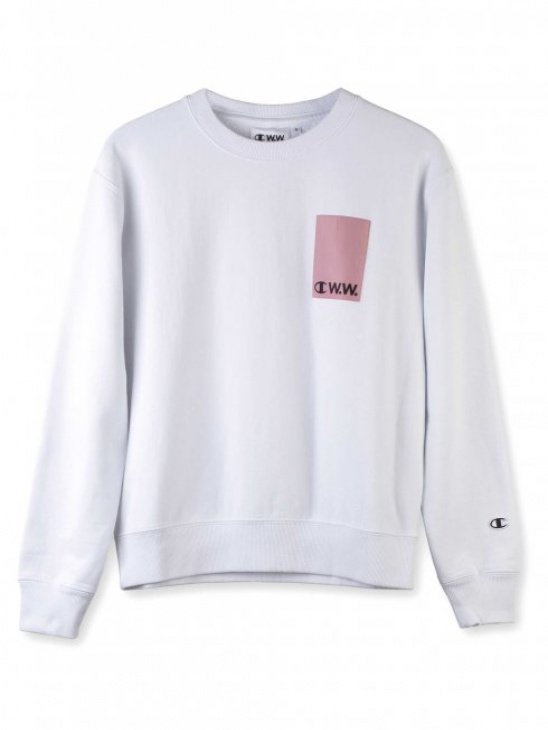 APLACE Reverse Terry Sweatshirt - Champion by Wood Wood
