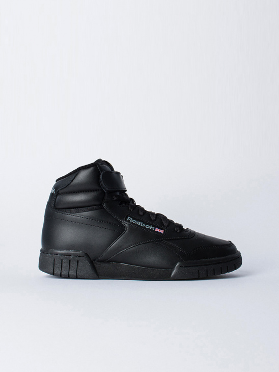 new product 0eb94 beabd Reebok Ex-O-Fit Hi Black ...