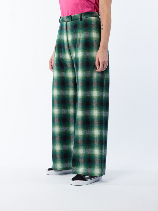 Fort Trouser Green Check