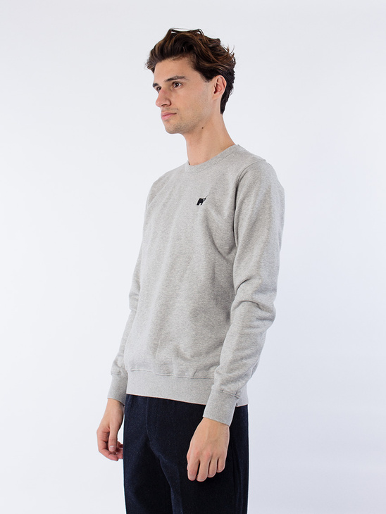 Crew Neck Sweat Grey M Unicorn