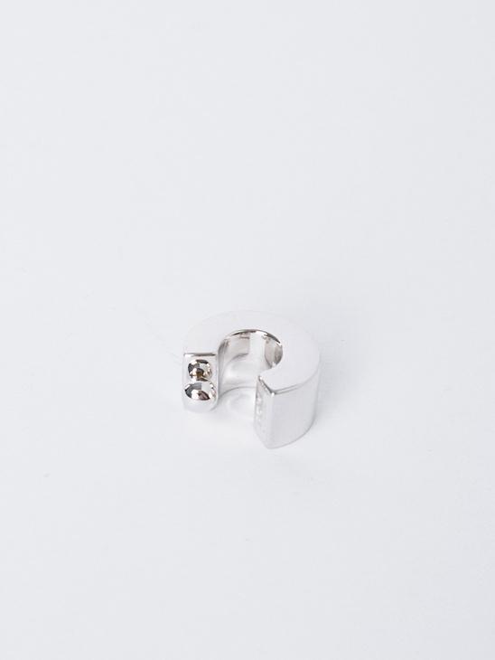 Almira Ear Cuff Rho Pl Silver
