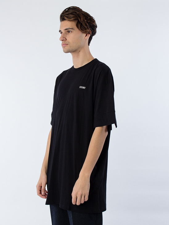 Solid T-Shirt Black