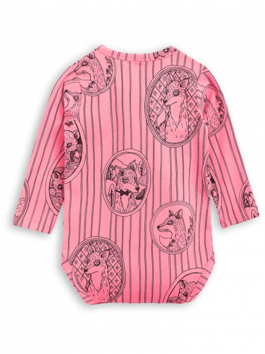 Fox Family Ls Body Pink