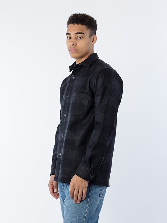 Overshirt Wool Large Check