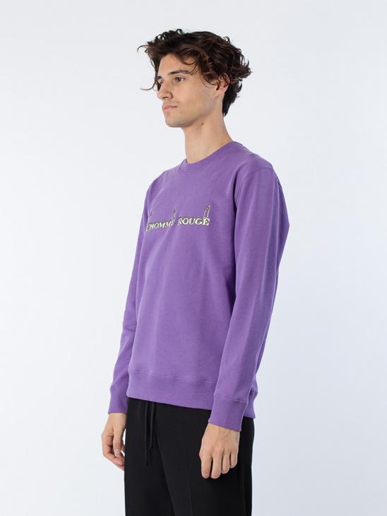 Logo Sweater Purple