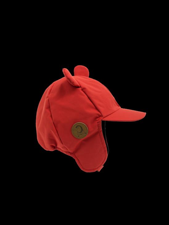 Alaska Ear Cap Red