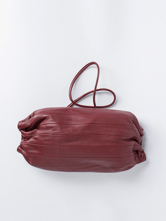 Karla Bag Wine Red