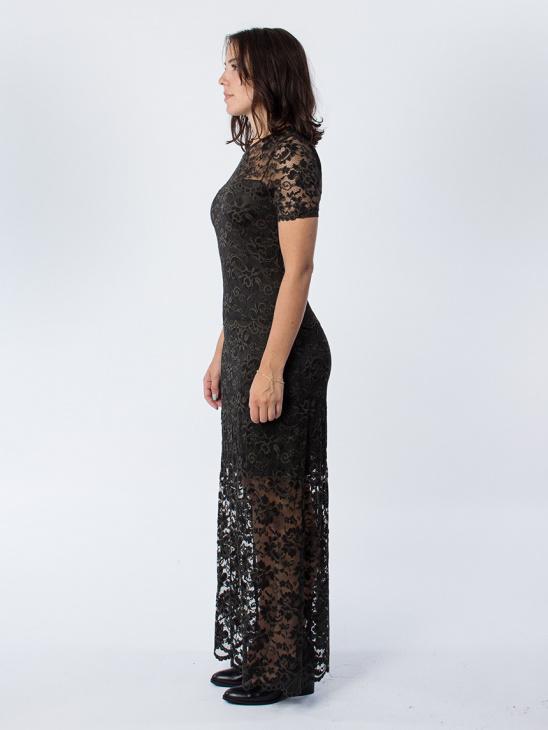Flynn Lace Rosin Dress