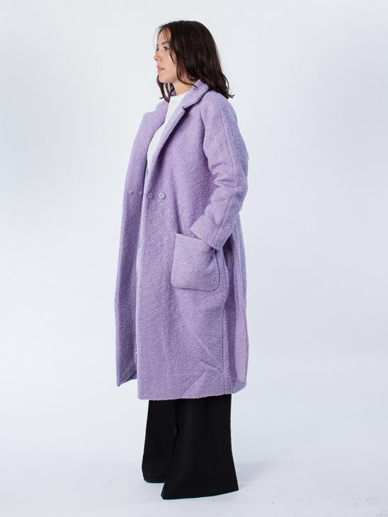 Fenn Pastel Lilac Coat