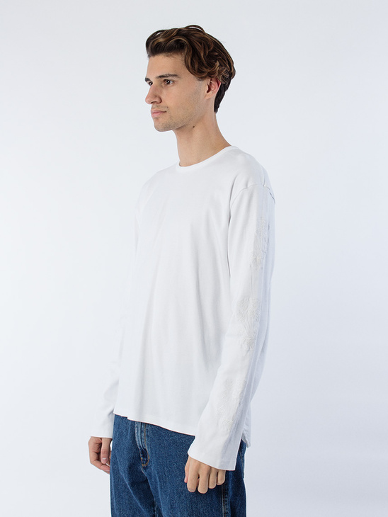 Poppy LS Sweat Off White