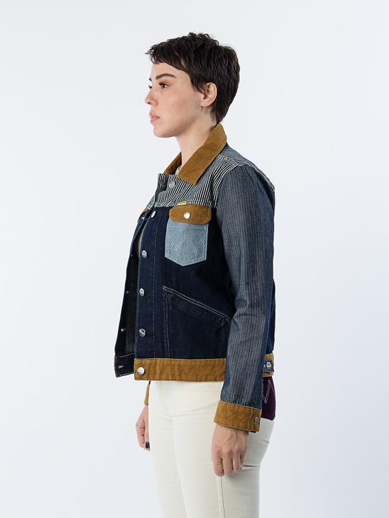 Western Jacket Denim Rinse