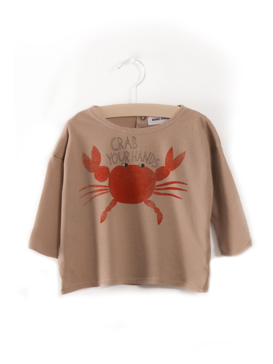 Baby T-shirt Crab Your Hands
