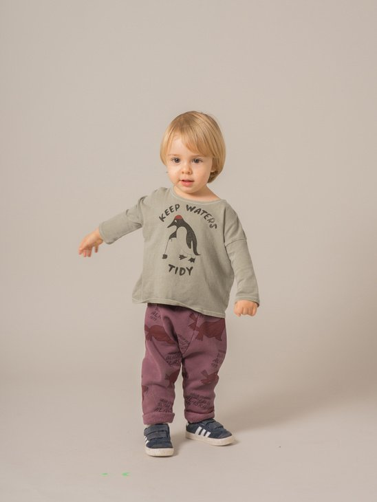 Baby T-Shirt Keep Waters Tidy