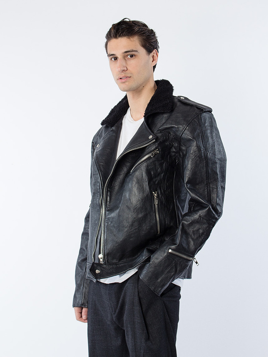 Avery Men's Leather Jacket
