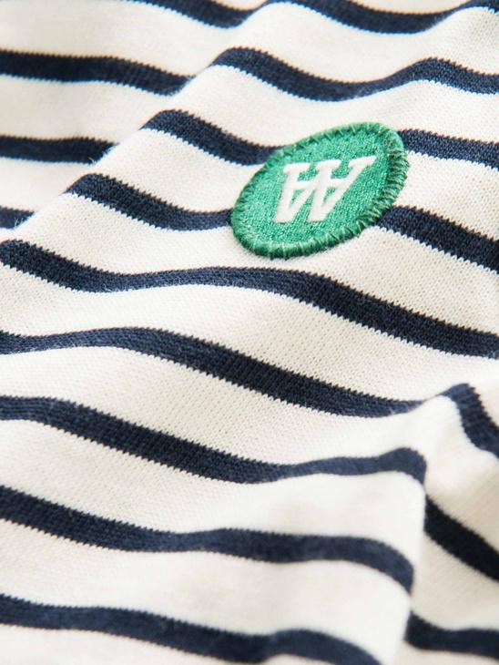 Kim Kids L/S Navy Stripe