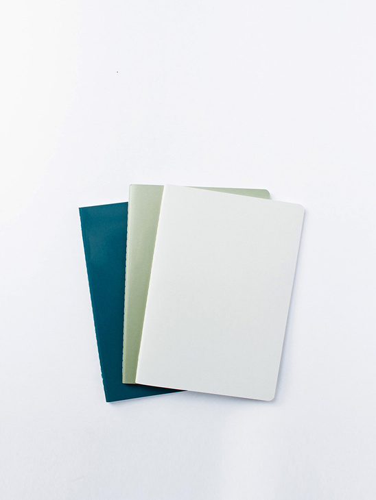 Notebook Large 3pcs Green