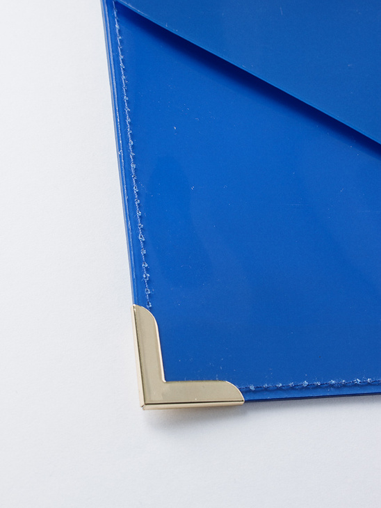 Envelope Folder Small Ink Blue