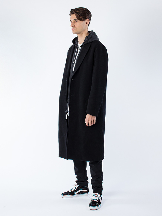 Area Coat Black