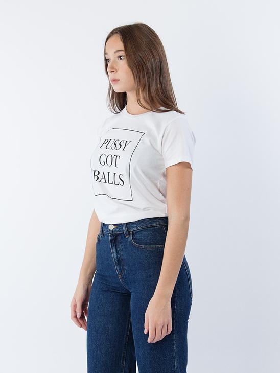 Pussy Got Balls T-shirt