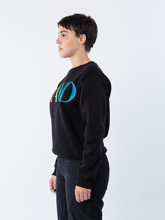 Retro Sweatshirt Black