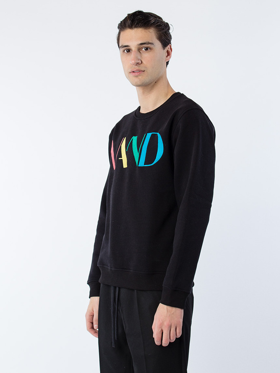 Retro Sweatshirt Black