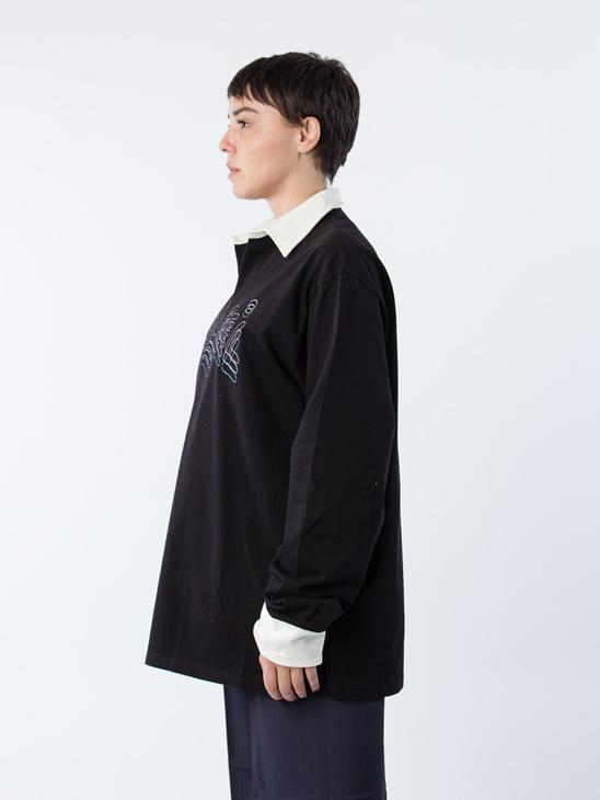 Bingheads Ls Shirt Black/White