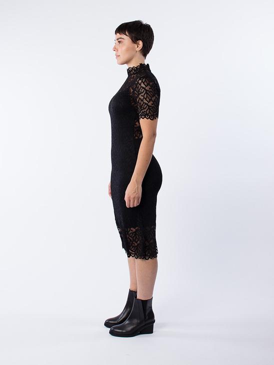 Ibi SS Sleeve Dress 7677