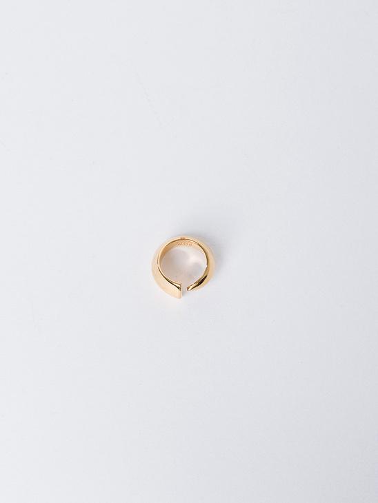 Épée Pinky Ring - Gold Pl Silv