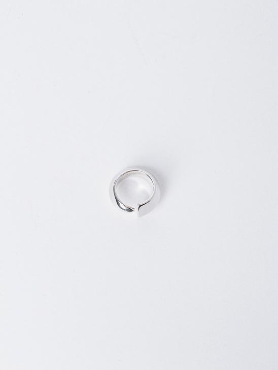 Épée Pinky Ring - Rhodium Plated Silver