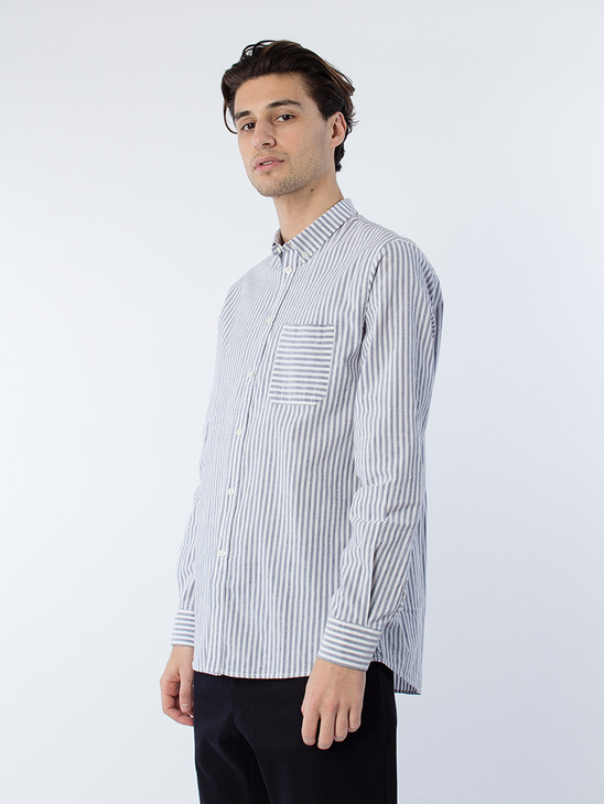 M. Peter Striped Shirt