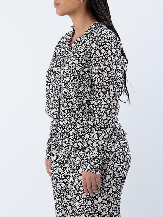 Milly Shirt aop 7201 P Fleur