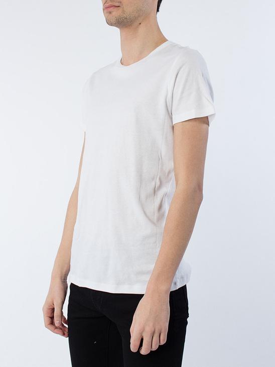 Etu crew neck t-shirt White