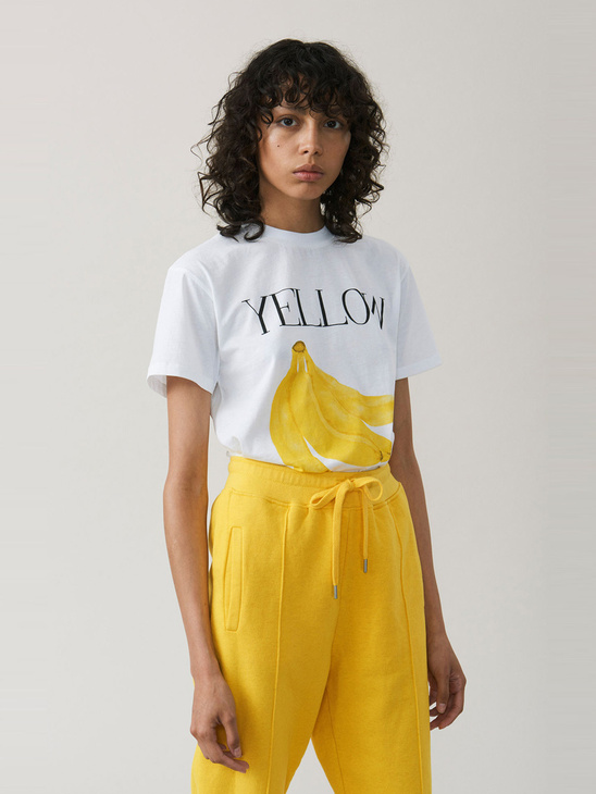 APLACE Harway yellow - Ganni