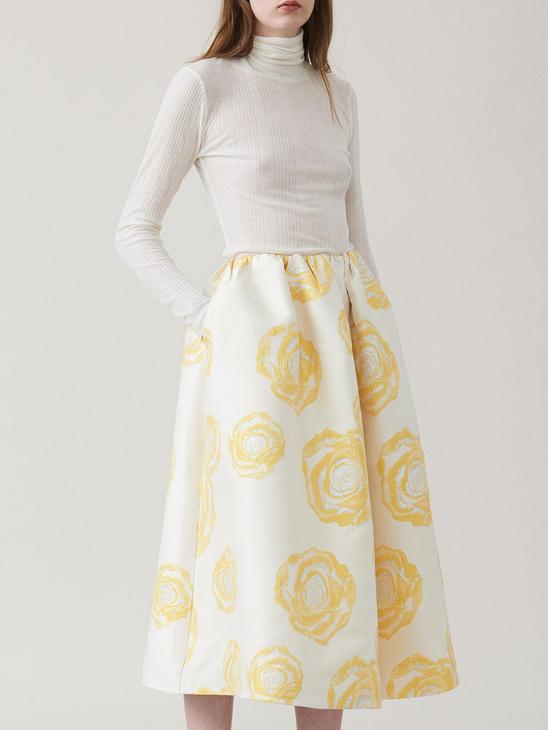 Turenne Jacquard Skirt