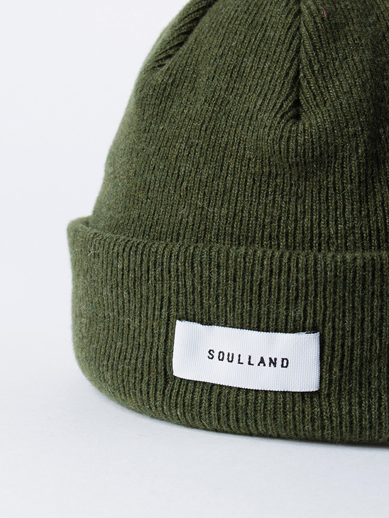 Villy Beanie Dark Green