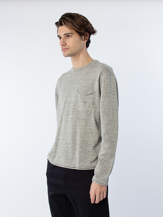 M. Cotton Linen Light Knit