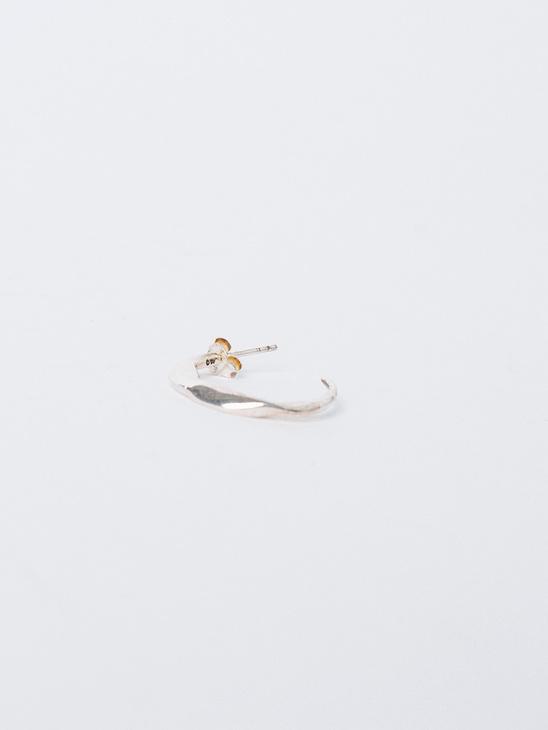 Molded Organic Hoop Earring S